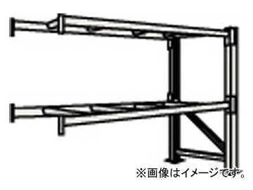 トラスコ中山/TRUSCO 重量パレット棚2トン2500×900×H2500連結 2段 2D25B25092B