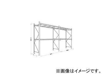 【スーパーセール】 P630X25A112:オートパーツエージェンシー パレットラック1ton用単体 日本ファイリング/NIPPONFILING-DIY・工具