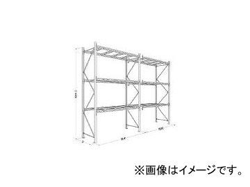 日本ファイリング/NIPPONFILING パレットラック1ton用単体 P640X25A093
