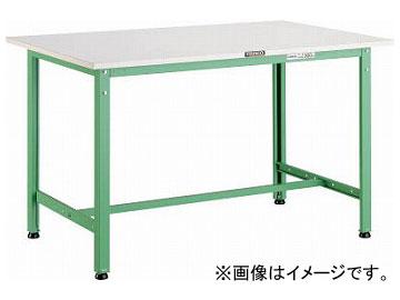 1200×900×H740 YG色 トラスコ中山/TRUSCO AE型作業台 AE1209YG