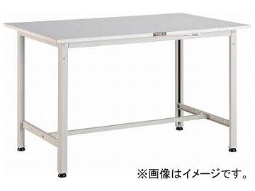 トラスコ中山/TRUSCO RAE型作業台 900×450×H740 W色 RAE0945W