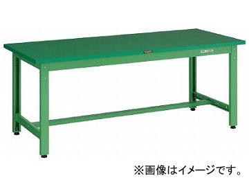 トラスコ中山/TRUSCO GWP型作業台 1500×900×H740 YG色 GWP1590YG