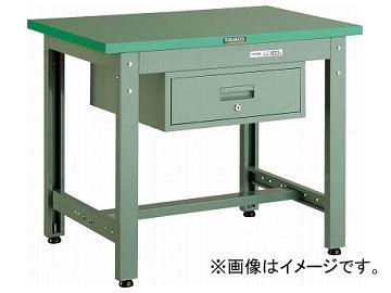 トラスコ中山/TRUSCO GWP型作業台 900×600×H740 1段引出付 GWP0960F1(3012069) JAN:4989999582482