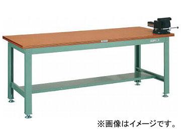 トラスコ中山/TRUSCO HW型作業台 1800×750×H740 バイス付 HW1800VRS(3013936) JAN:4989999582970