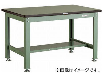 トラスコ中山/TRUSCO RHW型作業台 1200×750×H740 RHW1200 GN(2409046) JAN:4989999638400