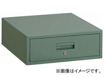 トラスコ中山/TRUSCO 作業台用引出 1段 グリーン F1(5008816) JAN:4989999645378