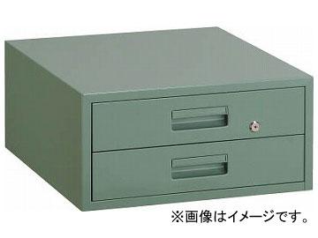トラスコ中山/TRUSCO 作業台用引出 2段 グリーン F2(5010462) JAN:4989999645385