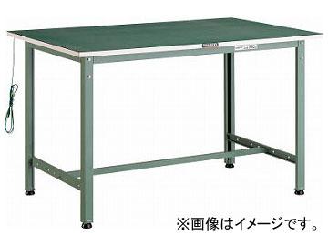 トラスコ中山/TRUSCO 帯電防止マット張りAE型作業台 1200×750 AE1200D(2434971) JAN:4989999632491