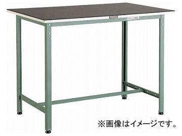 トラスコ中山/TRUSCO ゴムマット張りHAE型立作業台 1200×900 HAE1209G5