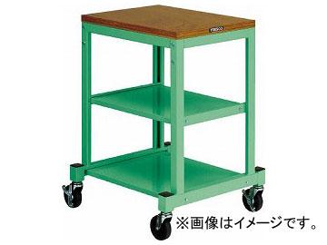 トラスコ中山/TRUSCO BN型小型作業台 450×600 キャスター付 YG色 BN4560ACYG(3932869) JAN:4989999127645