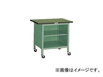 トラスコ中山/TRUSCO OWC型小型作業台 棚板付 900×600 キャスター付 OWC9060B(2424223) JAN:4989999651058
