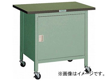 トラスコ中山/TRUSCO OWC型小型作業台 扉付 900×600 キャスター付 OWC9060C(2424266) JAN:4989999651065