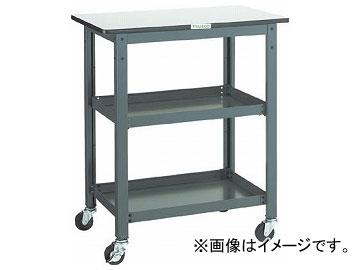 トラスコ中山/TRUSCO WHT型作業台補助テーブルワゴン 750×450×H900 WHT4575H(3012735) JAN:4989999582857