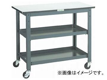 トラスコ中山/TRUSCO WHT型作業台補助テーブルワゴン 900×450×H740 WHT4590(3012808) JAN:4989999582925