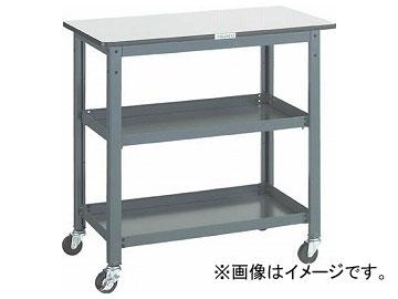 トラスコ中山/TRUSCO WHT型作業台補助テーブルワゴン 900×450×H900 WHT4590H(3012743) JAN:4989999582864