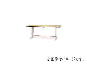 山金工業/YAMAKIN ワークテーブル昇降タイプ メラミン天板 W1200×D750 SSM1275NIP
