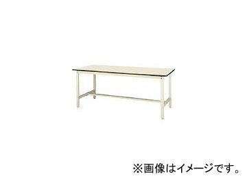 山金工業/YAMAKIN ワークテーブル300シリーズ ポリエステル天板W1800×D750 SWP1875II