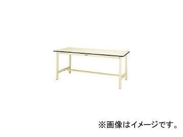 山金工業/YAMAKIN ワークテーブル300シリーズ リノリューム天板W1500×D600 SWR1560II