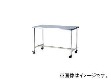 本庄厨房機器製作所 マイティー キャスター付ステンレス作業台 1200×600 下部H型補強枠 CWTH1260D