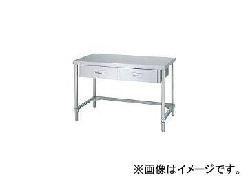 シンコー/SHINKOHIR ステンレス作業台片面引出付三方枠 ADT9060