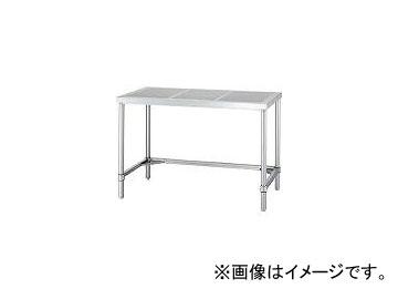 シンコー/SHINKOHIR ステンレス作業台パンチング天板三方枠 PAT9060