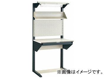トラスコ中山/TRUSCO ライン作業台 片面 パネル・傾斜棚型 W900 ULRT900F(2851652) JAN:4989999814576