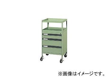 ダイシン工業/DAISHINKOGYO ツールワゴン グリーン MT3W