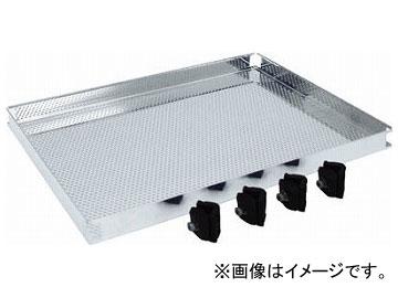 トラスコ中山/TRUSCO ステンレス製導電性ワゴン用棚板 750×450 パンチング TT32TP