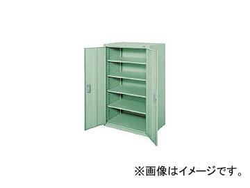 大阪製罐/OS ロッカーS 両開 最大積載量500kg 棚板4枚 1200S