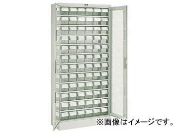 トラスコ中山/TRUSCO バンラックケース M型 両開き扉 透明引出小×72個 T611MN72S TM(3036804) JAN:4989999784206
