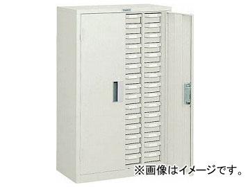 トラスコ中山/TRUSCO バンラックケースA型 扉付 4列15段 NG色 A415D NG(5019664) JAN:4989999623550