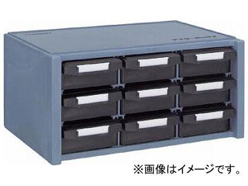 トラスコ中山/TRUSCO 導電性マスターBOX 342X241XH168 引出3列3段 BD900(2751712) JAN:4989999810264