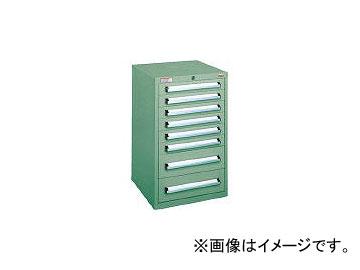 大阪製罐/OS ミゼットキャビネット 最大積載量160kg 引出し6×2段 M10