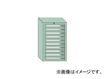 大阪製罐/OS 軽量キャビネット5型 最大積載量500kg 引出し10段 51001