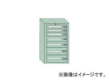 大阪製罐/OS 軽量キャビネット5型 最大積載量500kg 引出し3×2×2段 51007