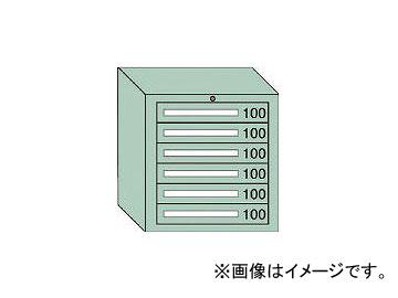 大阪製罐/OS 軽量キャビネット5型 最大積載量300kg 引出し6段 5601