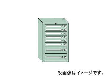 大阪製罐/OS 中量キャビネット7型 最大積載量1000kg 引出し6×2段 71011