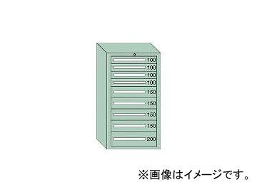 保障できる 71210:オートパーツエージェンシー 引出し4×4×1段 最大積載量1200kg 中量キャビネット7型 大阪製罐/OS-DIY・工具