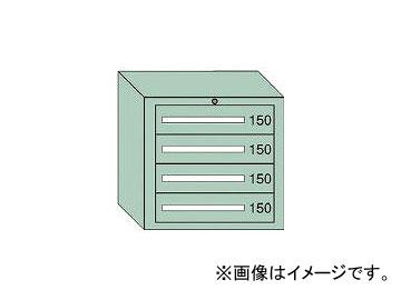 大阪製罐/OS ミドルキャビネットMD型 最大積載量600kg 引出し4段 MD602
