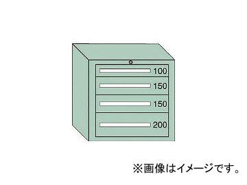 大阪製罐/OS ミドルキャビネットMD型 最大積載量600kg 引出し1×2×1段 MD604