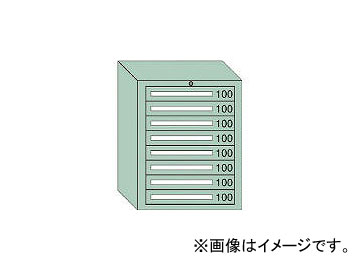 大阪製罐/OS ミドルキャビネットMD型 最大積載量800kg 引出し8段 MD801