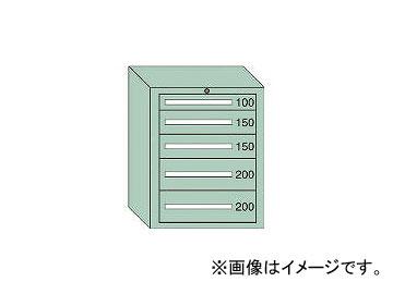 大阪製罐/OS ミドルキャビネットMD型 最大積載量800kg 引出し1×2×2段 MD803