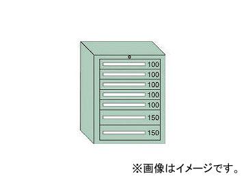 大阪製罐/OS ミドルキャビネットMD型 最大積載量800kg 引出し5×2段 MD808