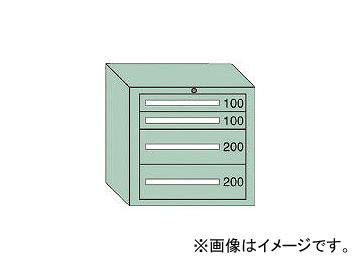 大阪製罐/OS 中量キャビネット7型 最大積載量600kg 引出し2×2段 7605