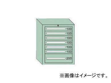 大阪製罐/OS 中量キャビネット7型 最大積載量800kg 引出し6×1段 7809