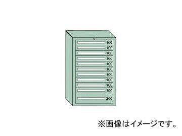 大阪製罐/OS 重量キャビネットDX型 最大積載量1500kg 引出し10×1段 DX1217