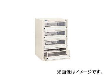 大阪製罐/OS ライトキャビネット5型 引出し4段 5802GT