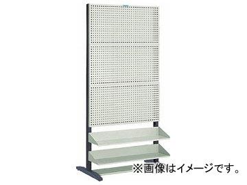 トラスコ中山/TRUSCO UPR型パンチングラック 棚板付 両面 UPR6004(5015600) JAN:4989999679052