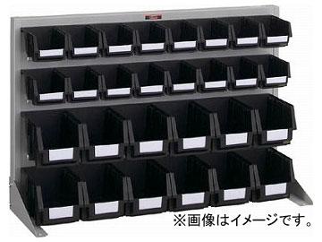 トラスコ中山/TRUSCO 導電性パネルコンテナラック 卓上型 コンテナ小×16 中×12 T0622NE SV(3526607) JAN:4989999824407