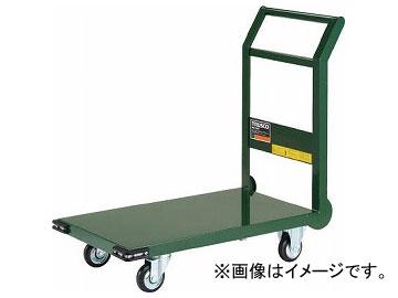 トラスコ中山/TRUSCO 鋼鉄製運搬車 800×450 φ100プレス車 緑 SH3N GN(3372456) JAN:4989999015027